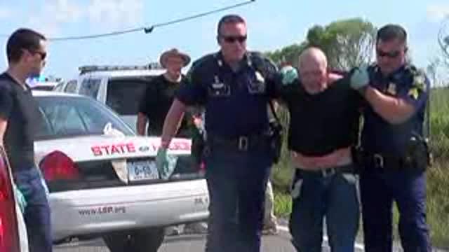 Trooper shot during traffic stop_20150824135812