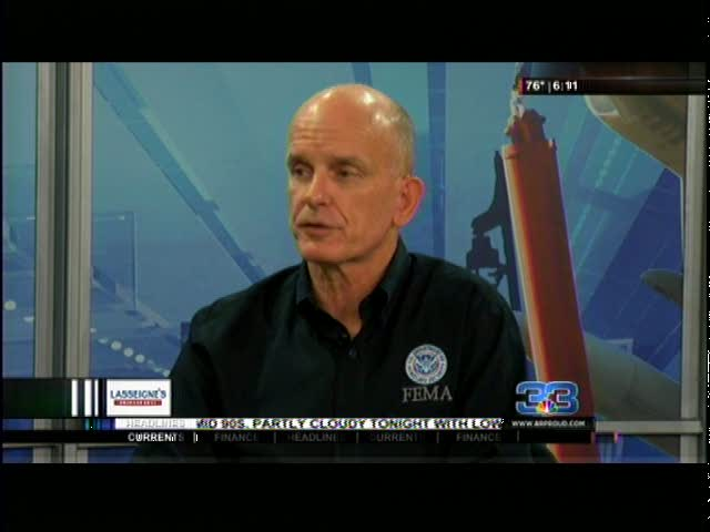 FEMA-s Federal Coordinating Officer provides updates_20160831123115