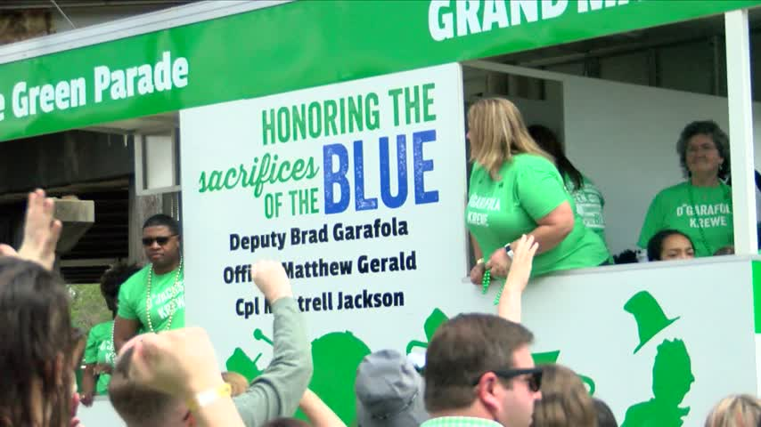 32nd annual Wearin' of the Green Parade rolls through BR