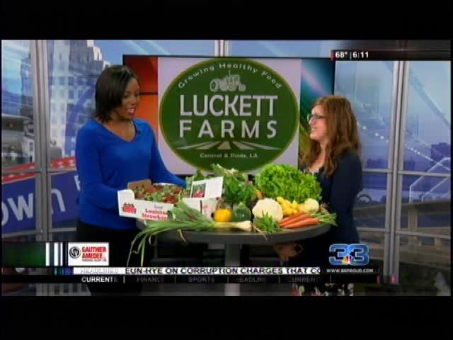Luckett Farms talks about CSA program