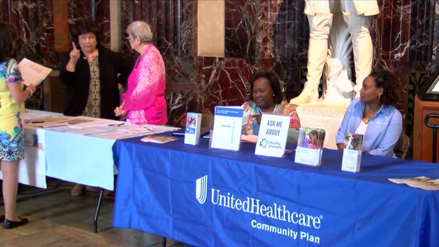 Local leaders rally at State Capital for Health Day