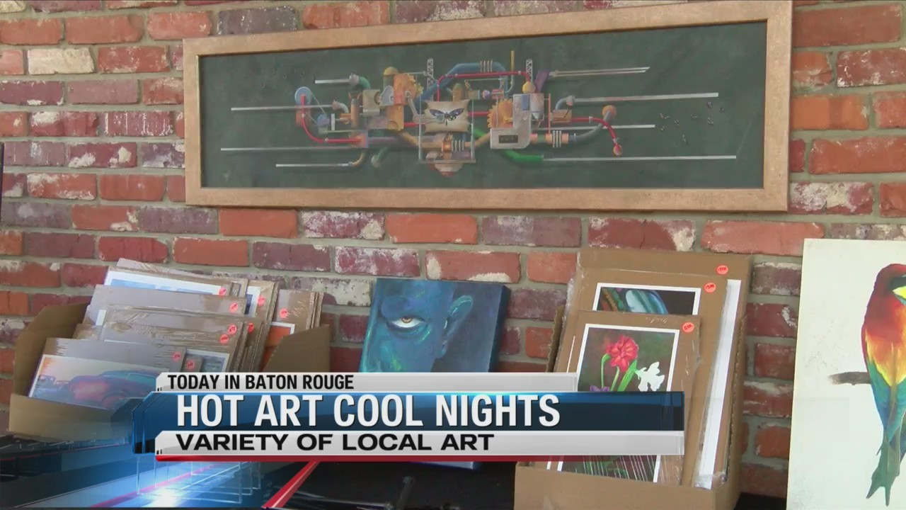 Local Artists Get Their Sculpture On At Hot Art Cool Nights