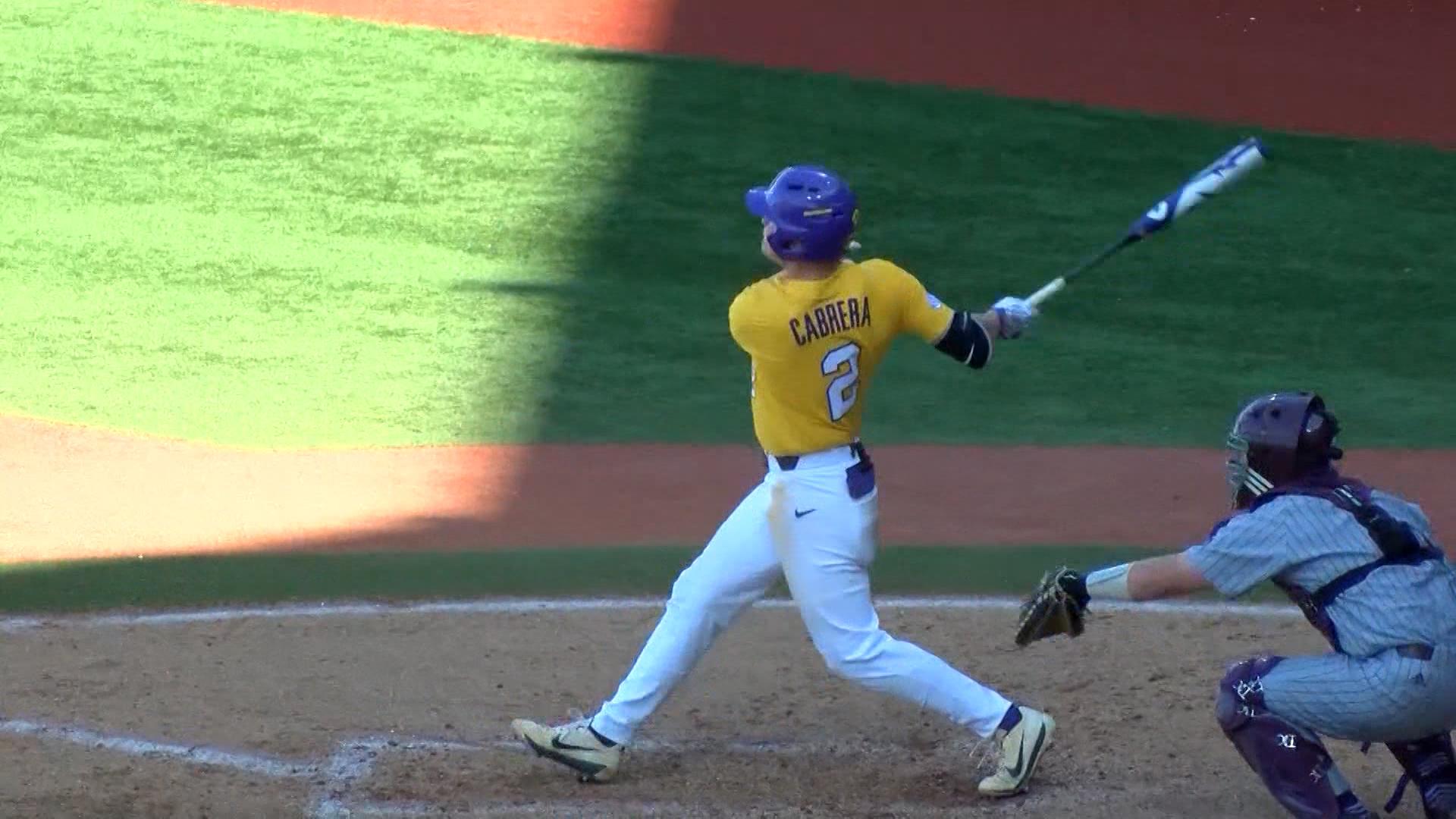 Daniel Cabrera Earns Baseball Jersey No. 8 | BRProud.com | WVLA | WGMB