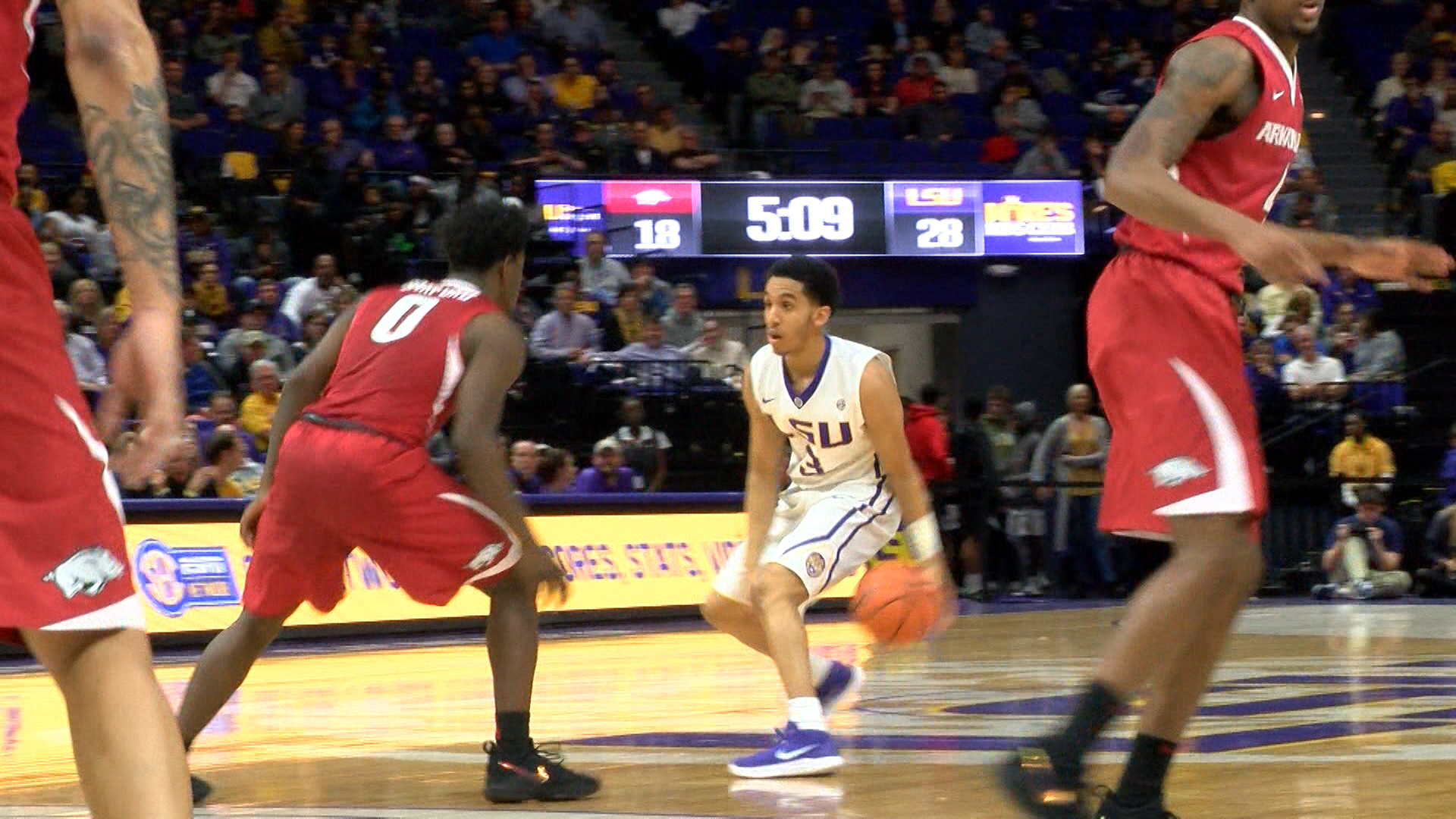 Tremont Waters LSU Guard