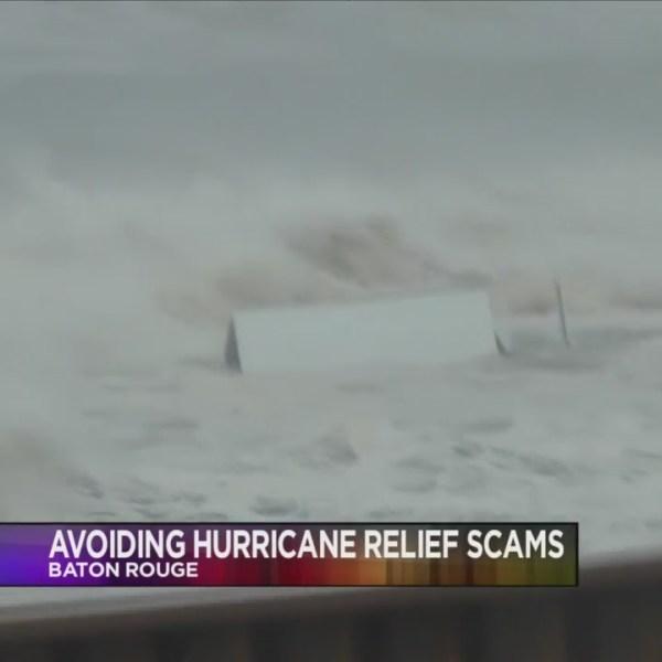 Avoiding Hurricane Scams