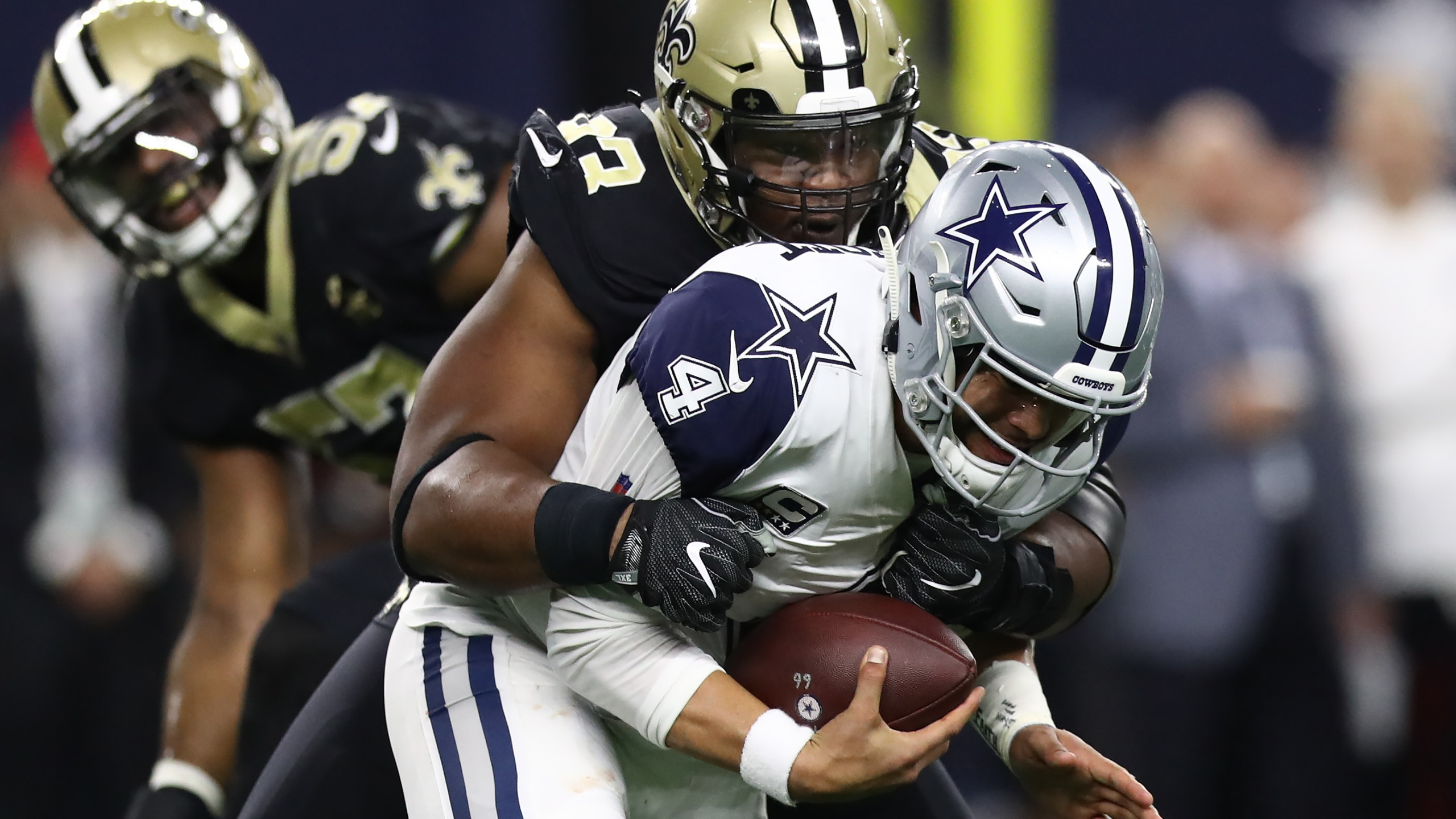 Saints at Cowboys Loss 2018