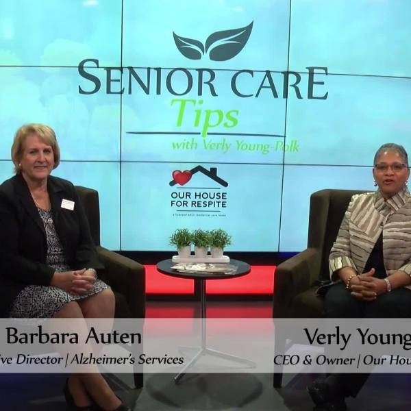 Senior Care Tips - Alzheimer's Disease
