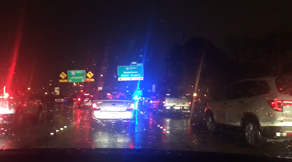 One dead, two injured in shooting on I-110
