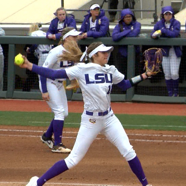 Shelby Wickersham LSU Softball