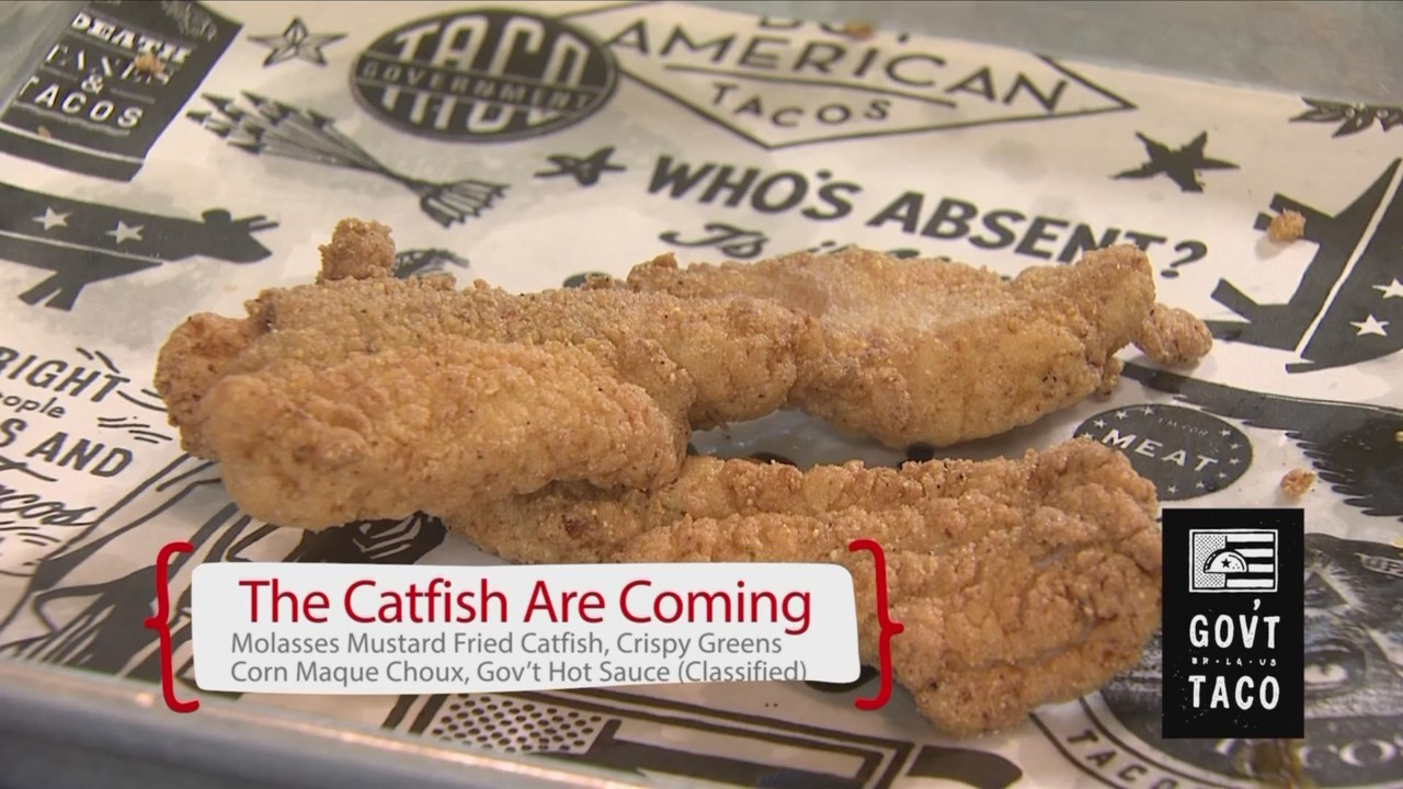 Cookin' Louisiane - The Catfish Are Coming Tacos