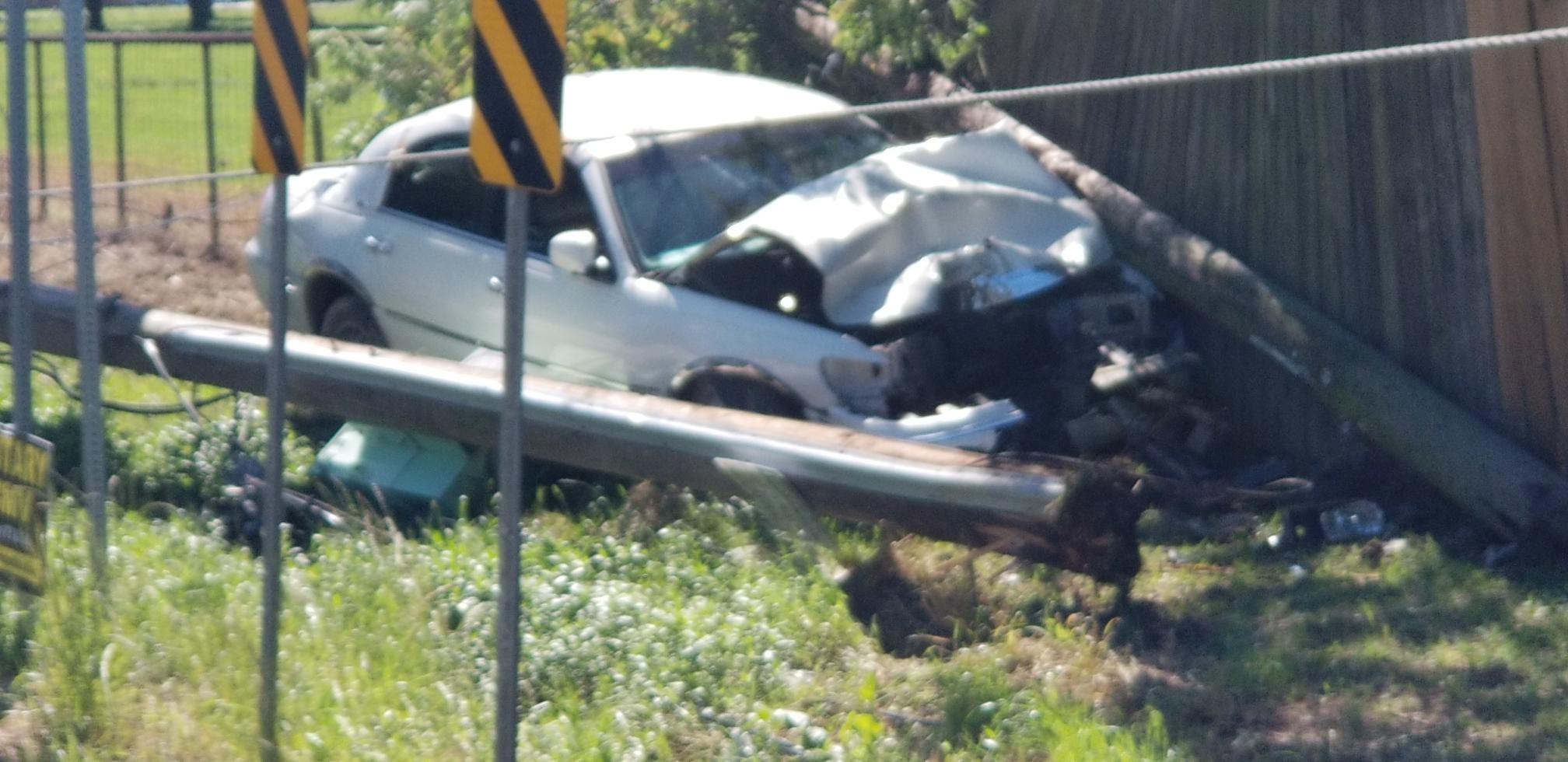 Crash forces road closures in Ascension Parish