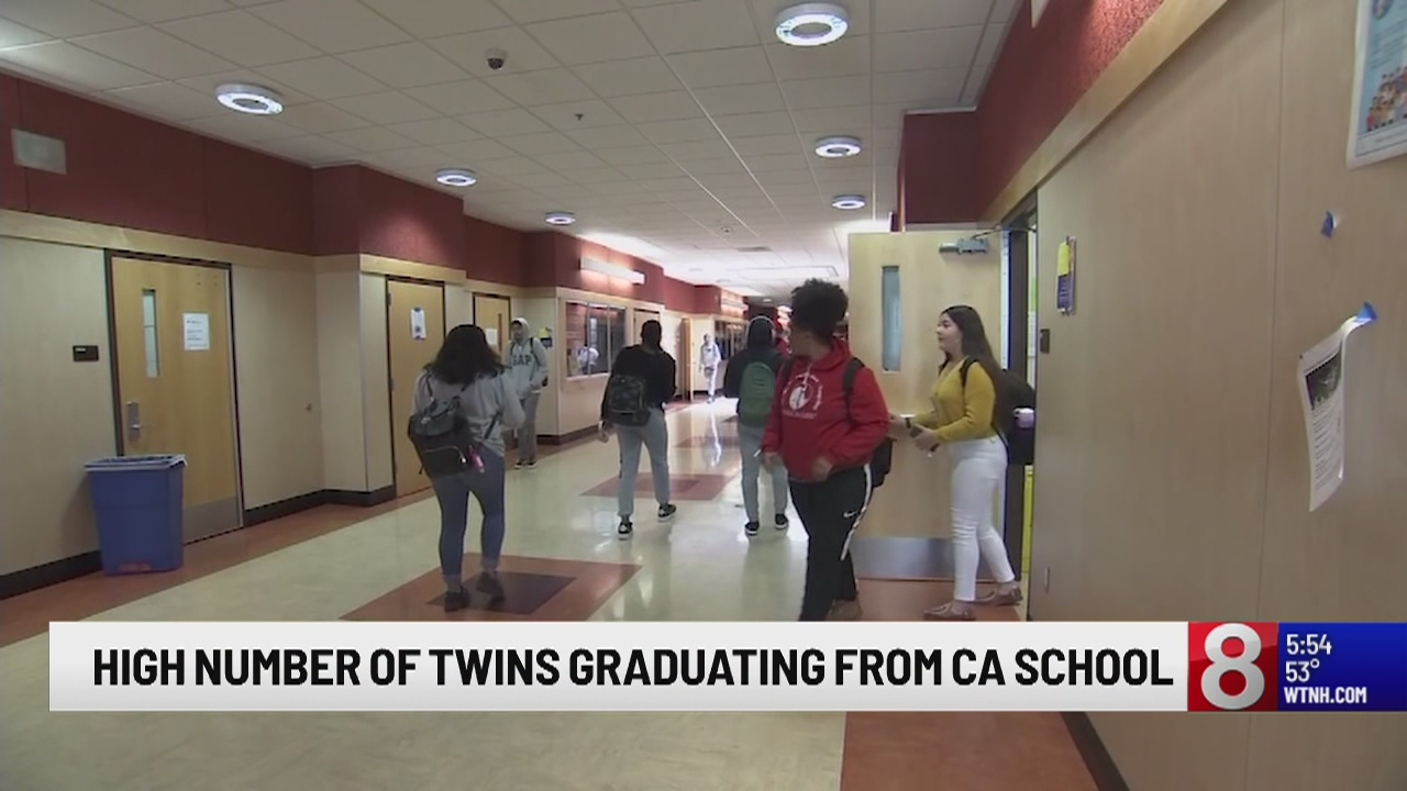 15 sets of twins will be graduating from a California high school