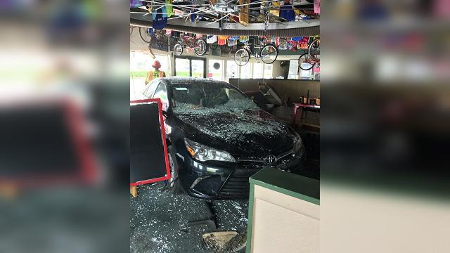 Bortolami's Pizzeria car crash front of car 05212019_1558478981750.jpg-842137445.jpg