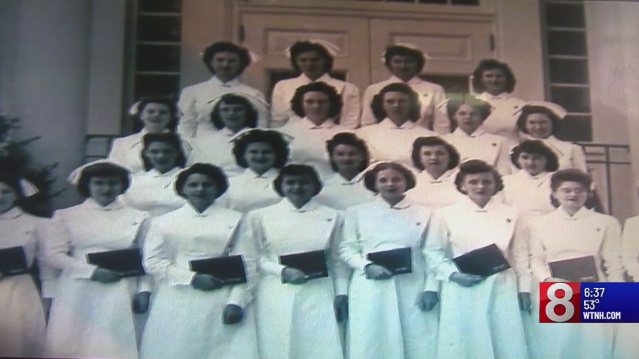 During World War II, tens of thousands of young women answered a call to serve. They entered a training program to become nurses during a huge shortage at local hospitals.