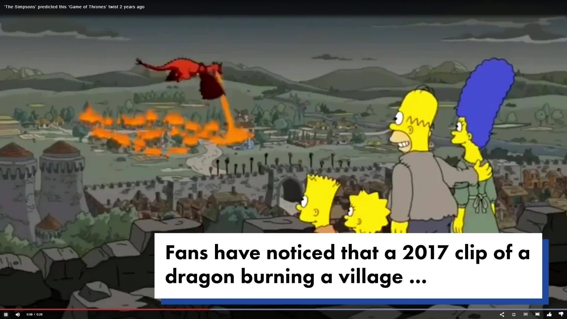 Simpsons GOT NY Post