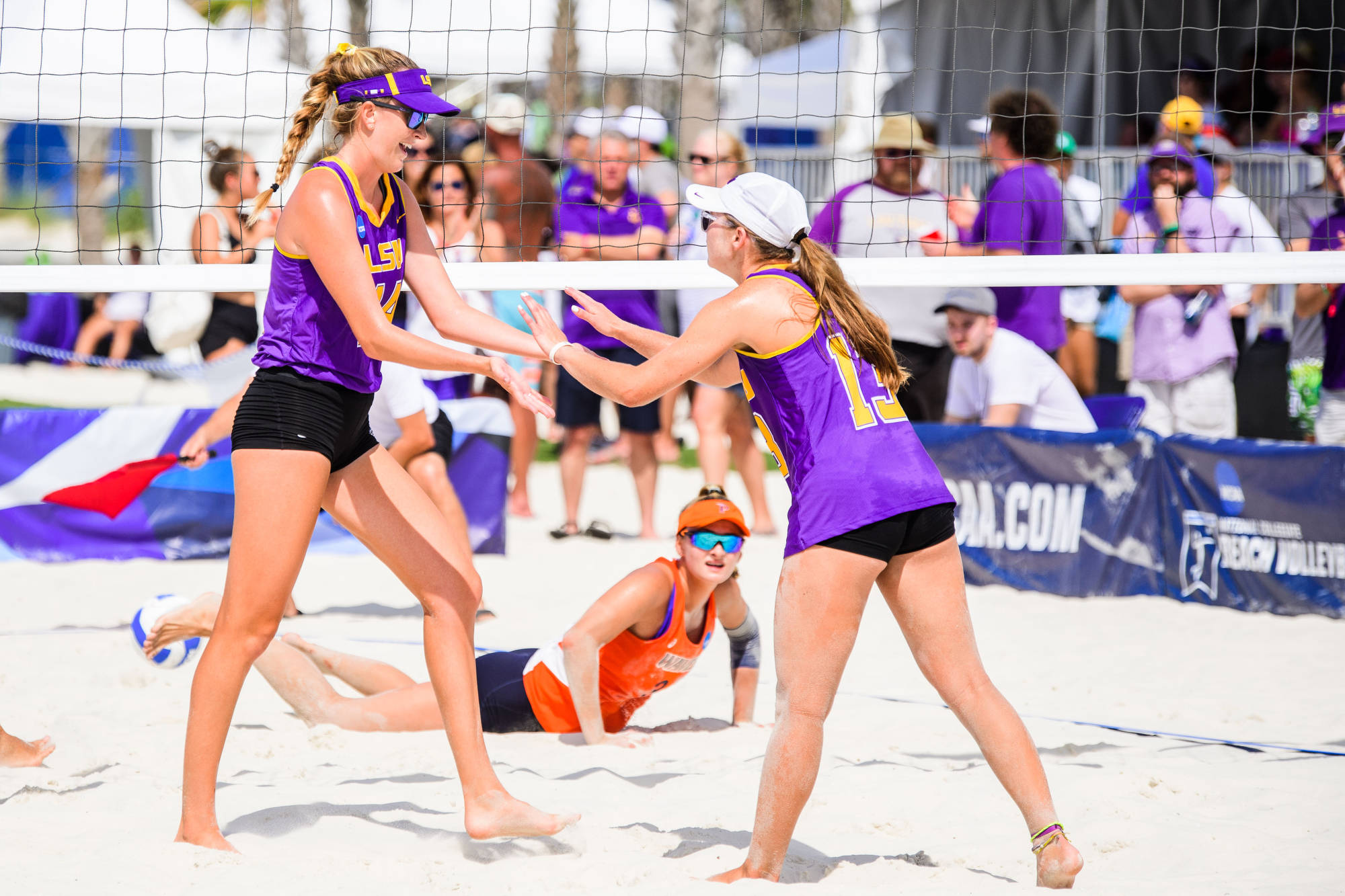 LSU Sand Beach Volleyball vs NCAA Tourney