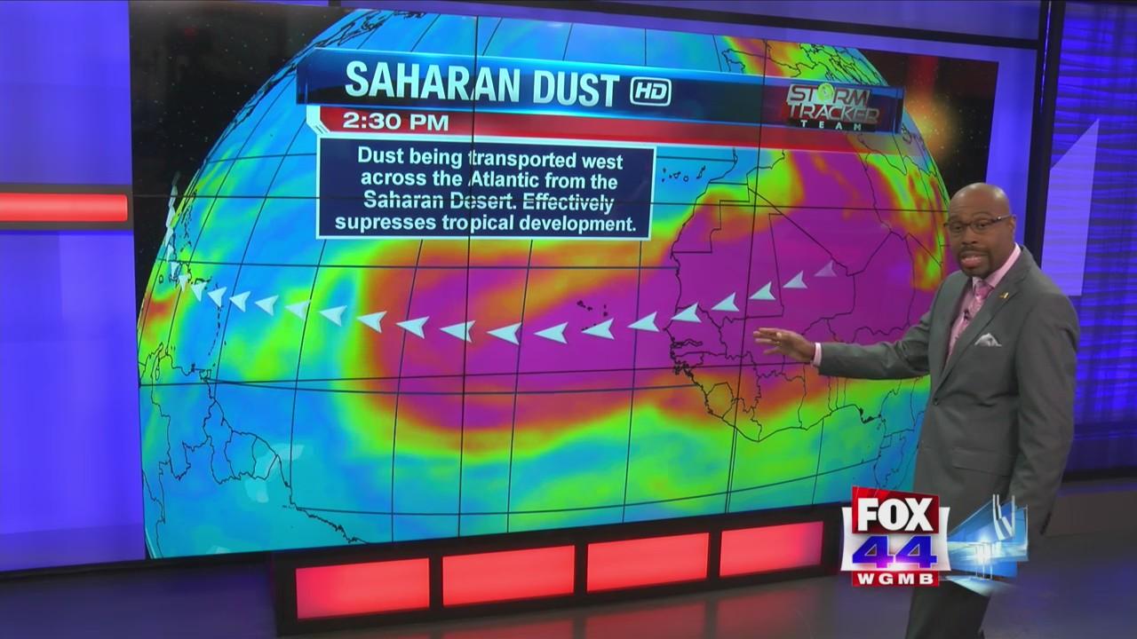 Dust over the Capital City has a Saharan connection   BRProud com