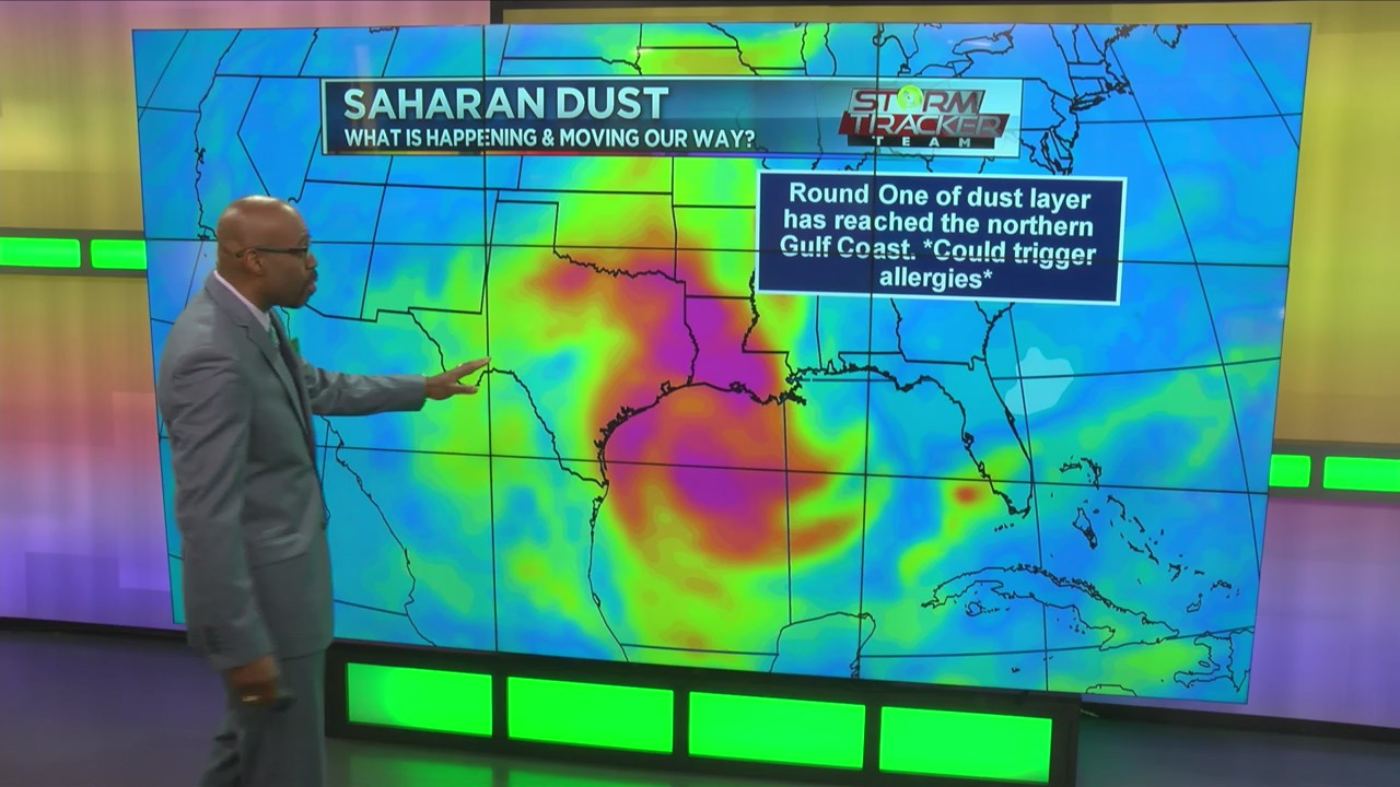 Weather Alert: Another round of Saharan dust on the way