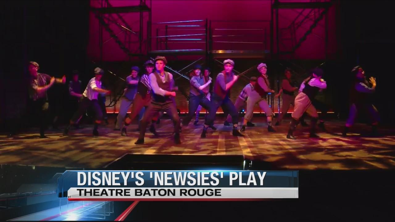 Newsies Theatre Baton Rouge