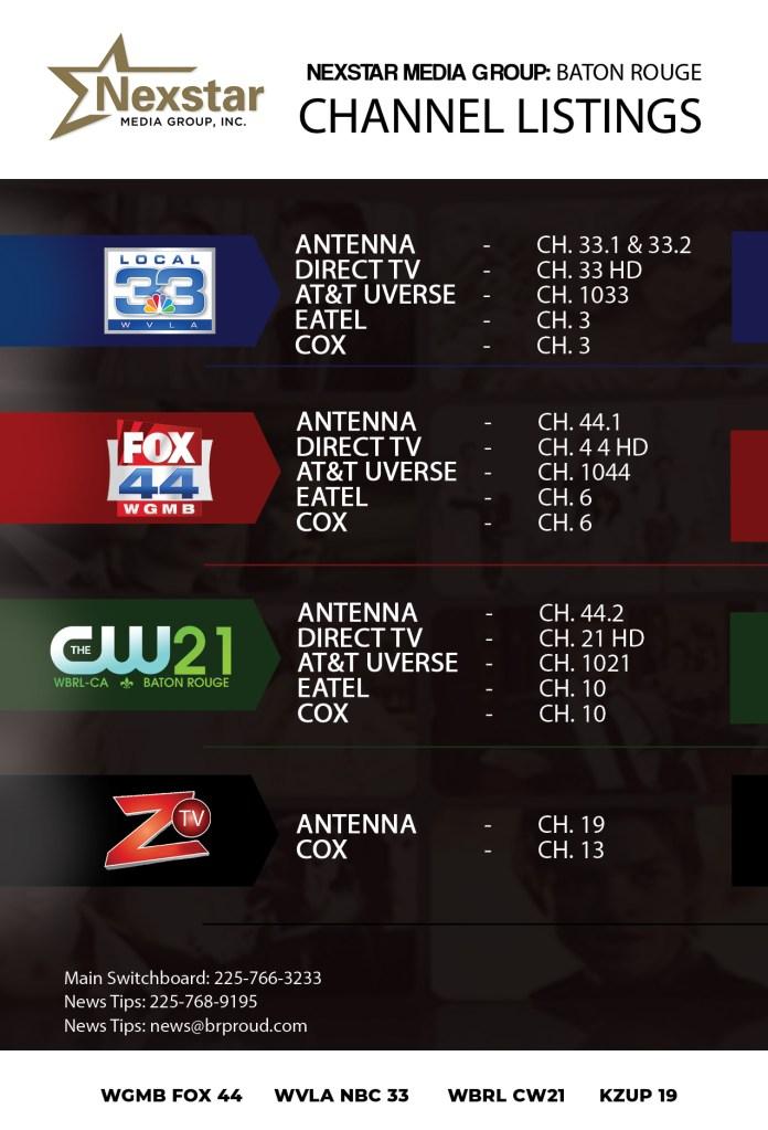 TV Schedule | BRProud com