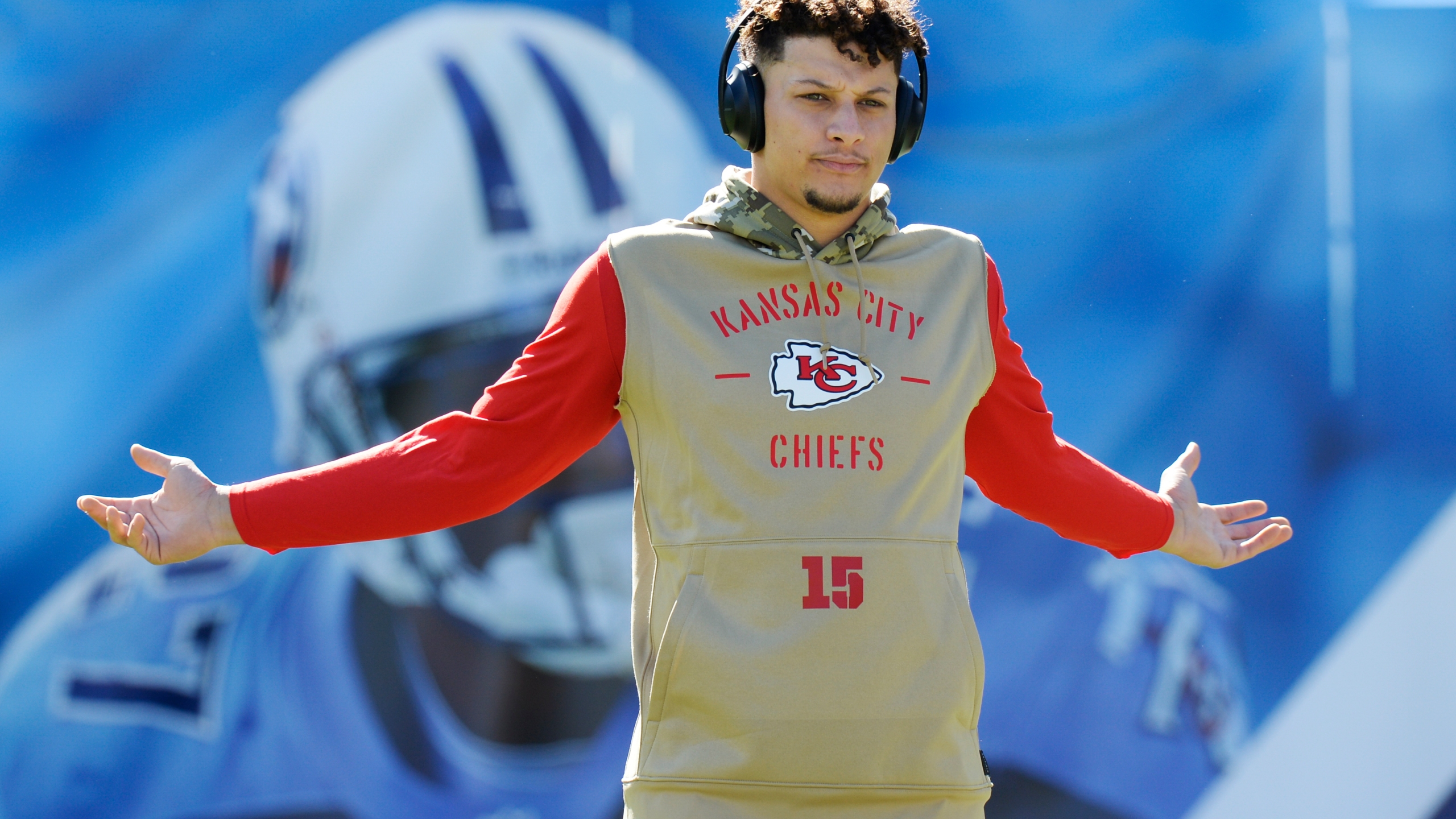 The Latest Chiefs Qb Mahomes Plays Lions Qb Stafford Sits