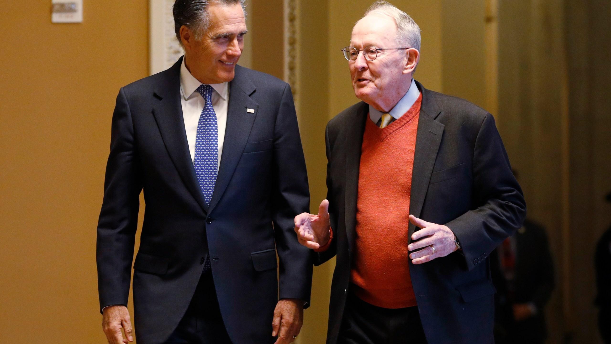 Lamar Alexander, Mitt Romney