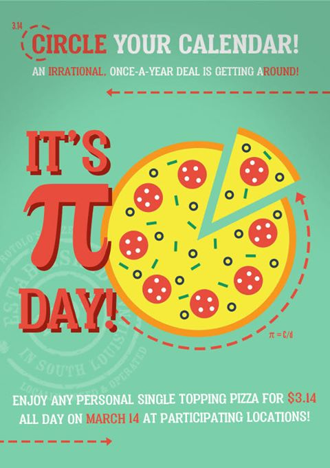 Brproud Savvy Southerner Baton Rouge Food Deals On National Pi Day