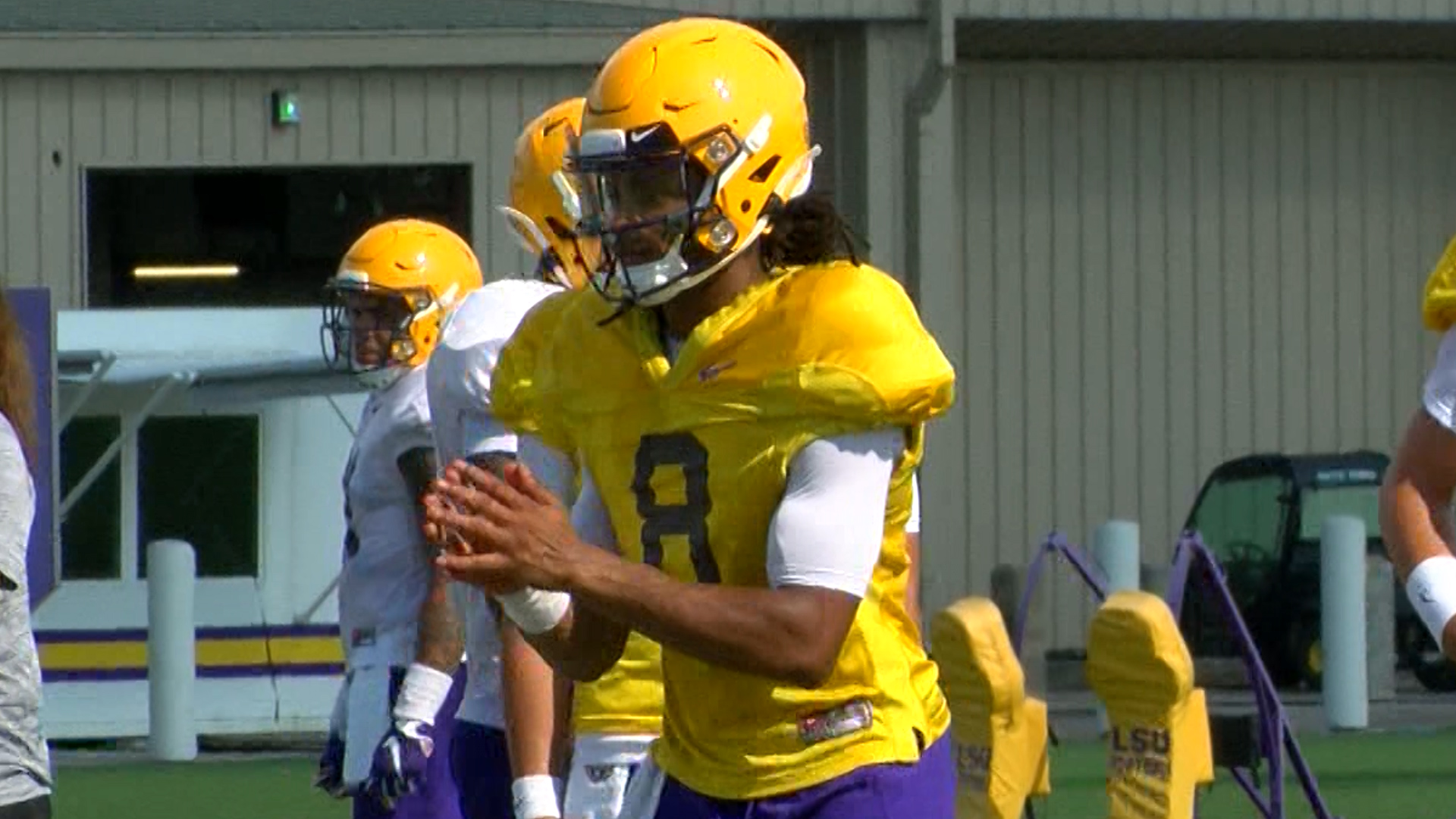 Former LSU QB Parrish removed from official roster ...