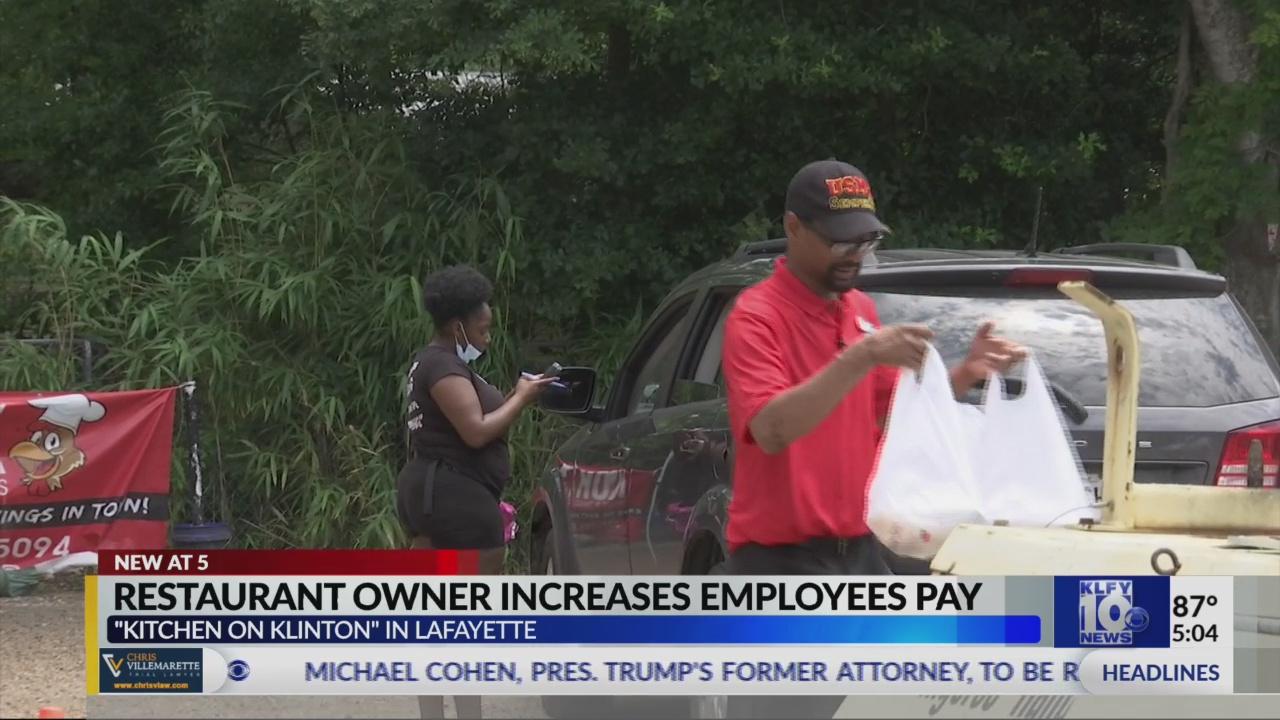 Restaurant Owner In Louisiana Increases