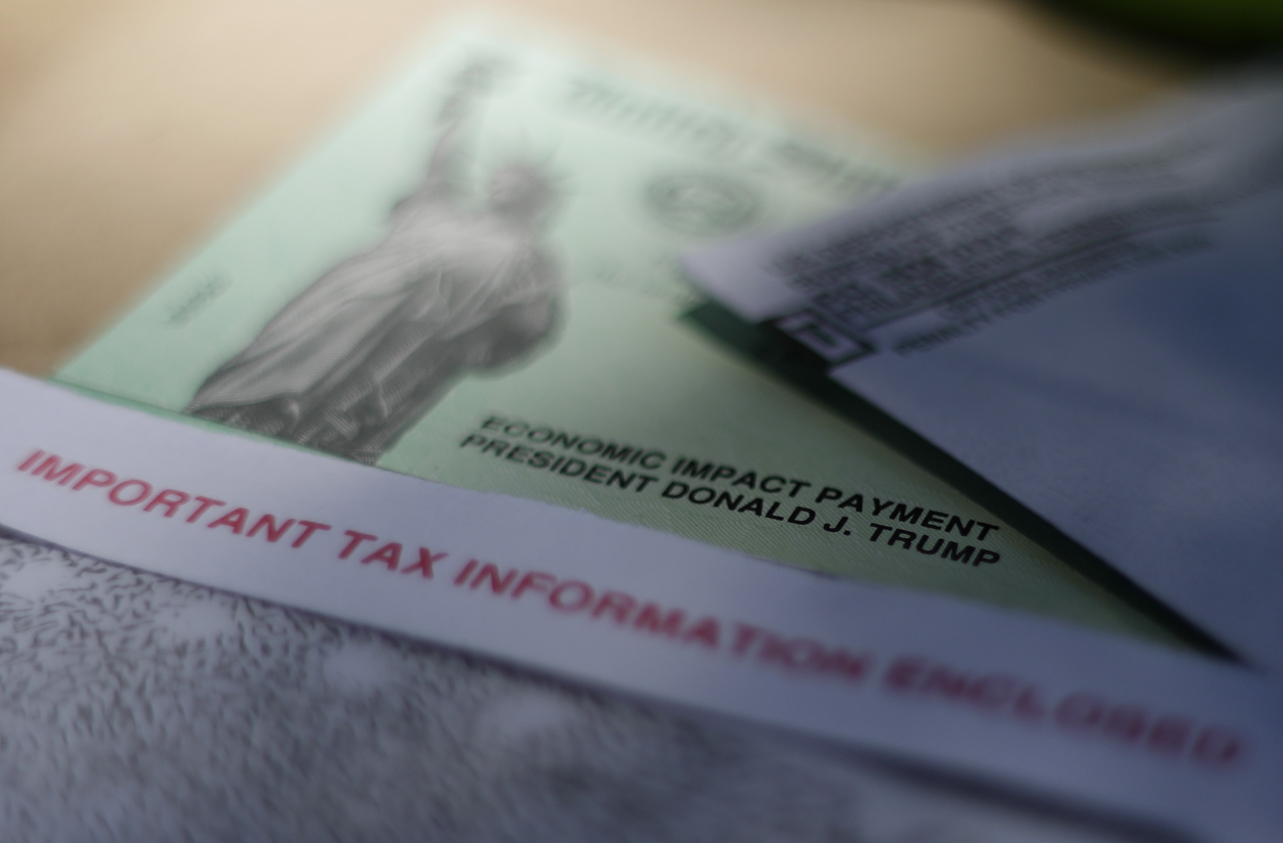 BRPROUD   Stimulus checks: Some Social Security recipients receiving checks  beginning Friday