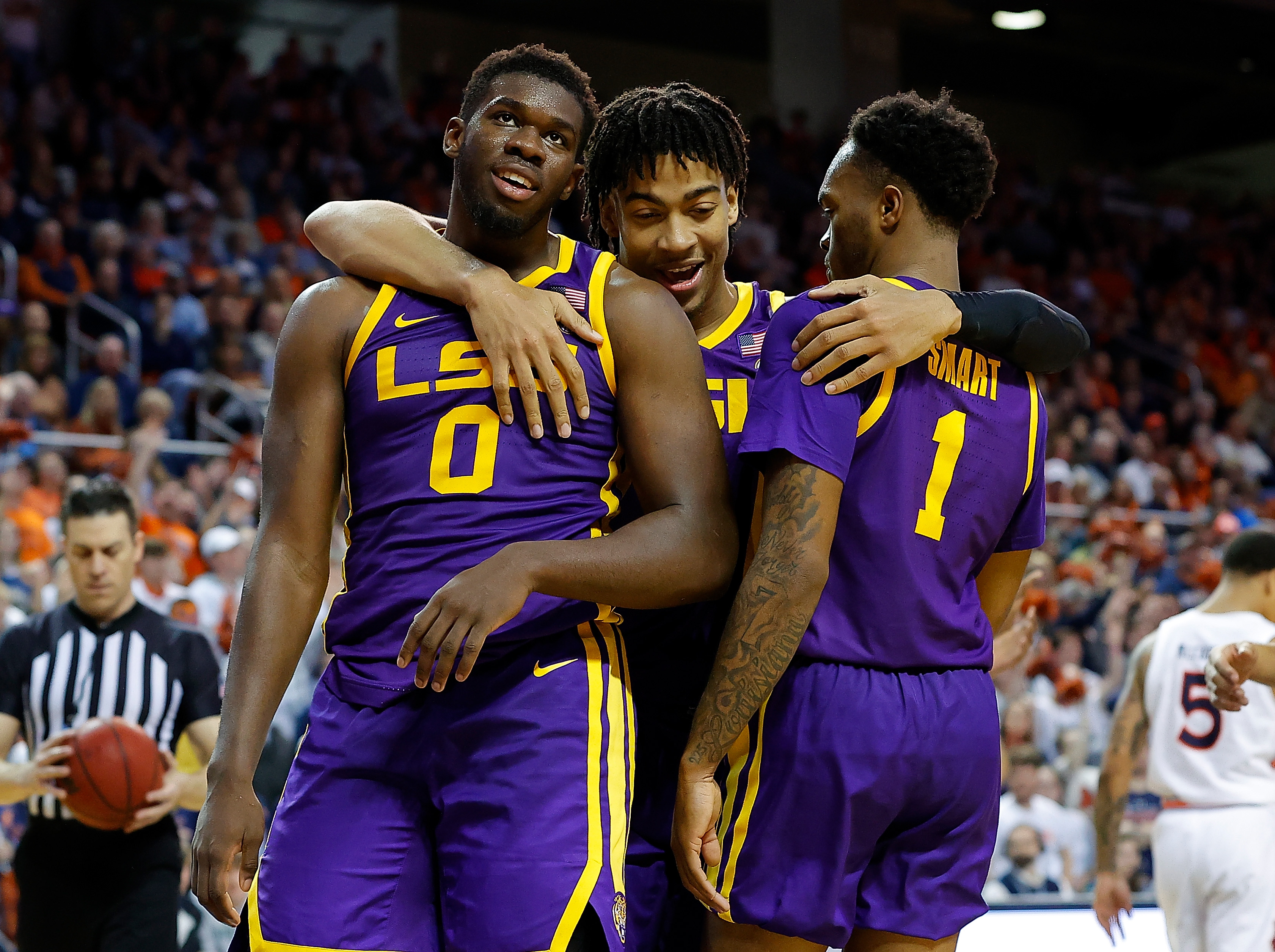 BRPROUD   Three Tigers to return for LSU Basketball 2020-21 season