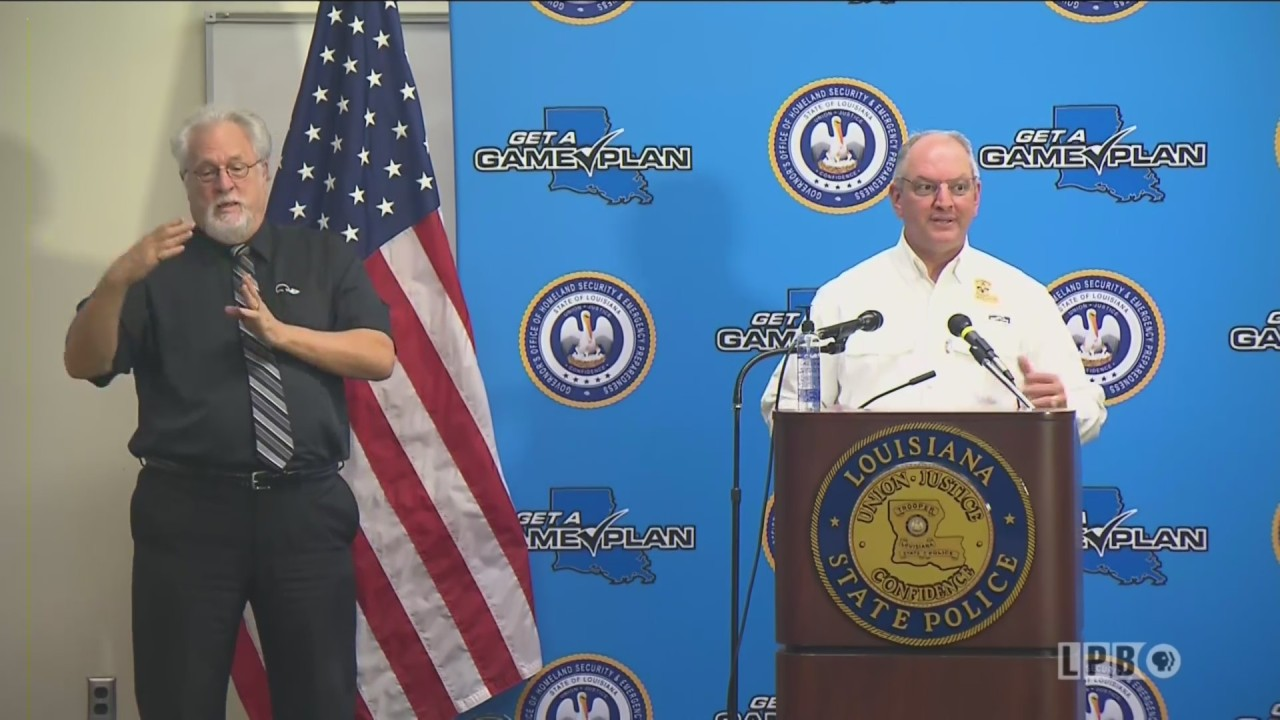 BRPROUD   LIVE: Governor Edwards gives Hurricane Sally and ...Hurricane Sally Update