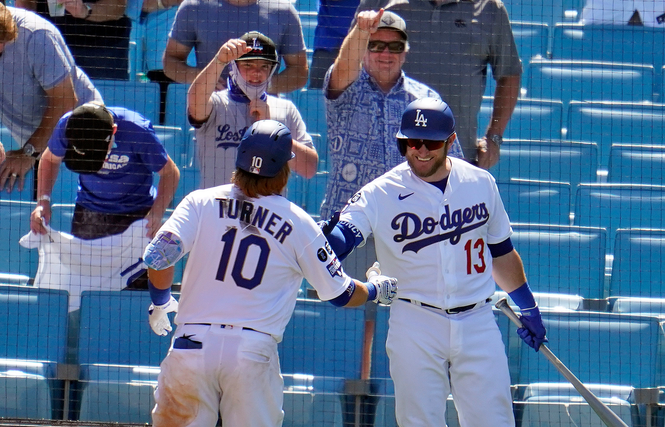 Justin Turner, Max Muncy