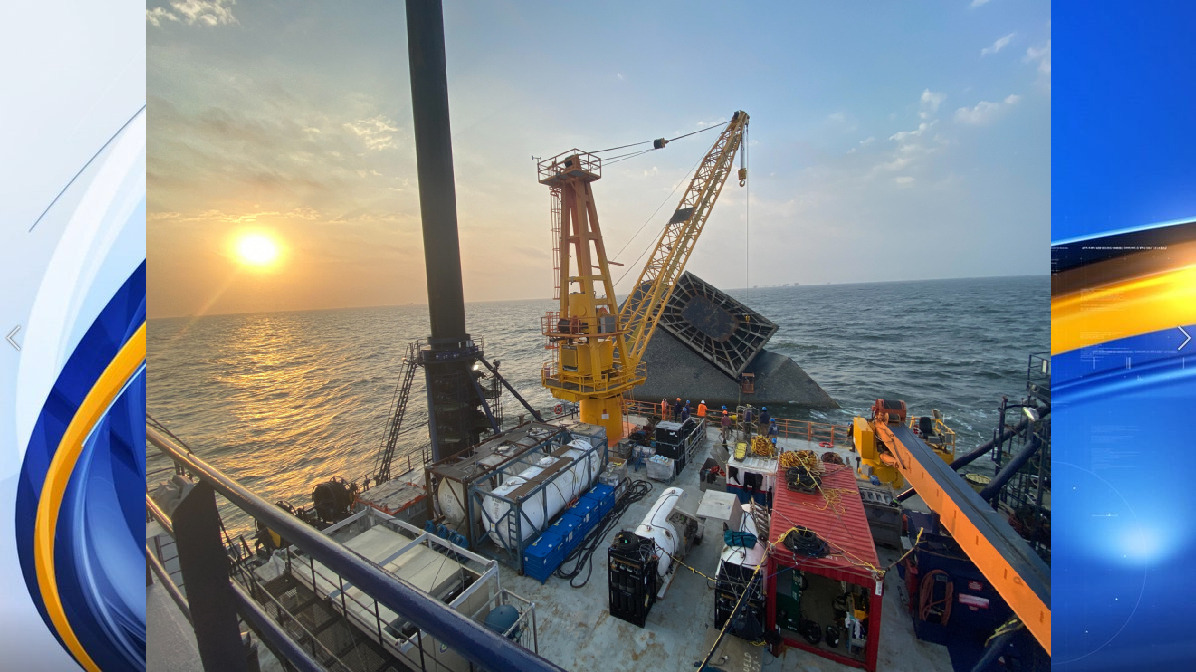 Seacor Power unified command: Salvage operations should be complete by end of month
