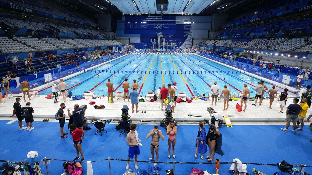 Olympics women pain Athing Mu,